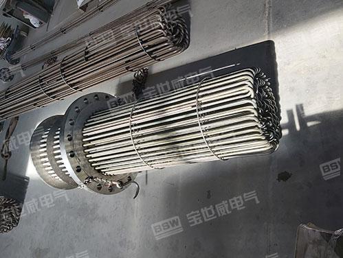 集束式法兰电加热器